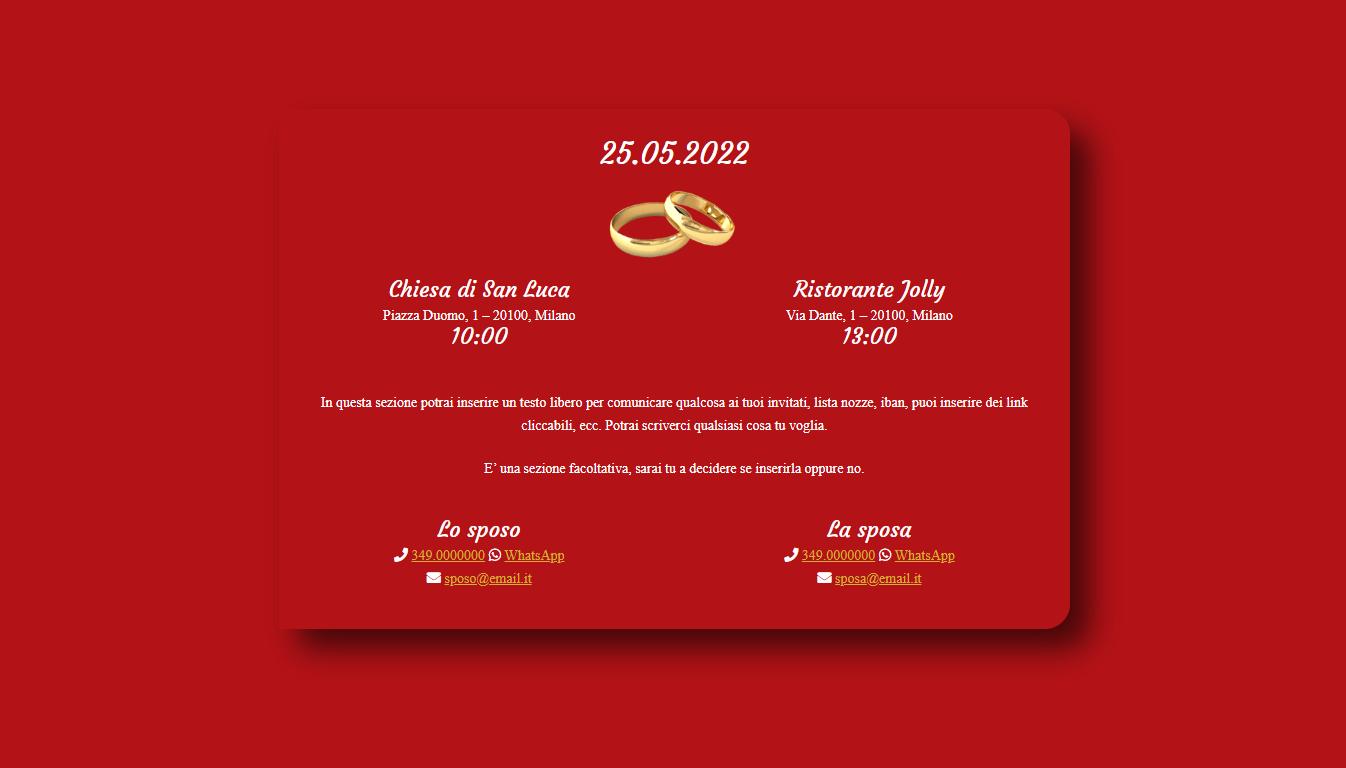 Partecipazione COURGETTE RED